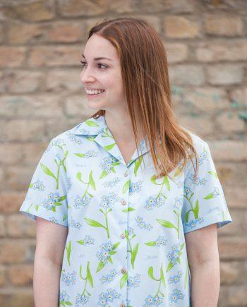 Vergissmeinnicht Damenhemd | Schönwetterfront
