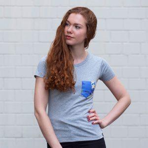Aloha T-Shirt – Edelweiß & Enzian