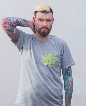 Grie Soß T-Shirt mit aufgenähter Brusttasche