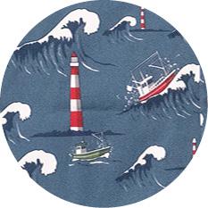 Nordsee dunkelblau